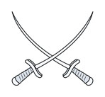 117-crossed-swords--vector-cartoon-illustration-1113tm-v1