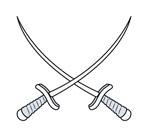 117-crossed-swords--vector-cartoon-illustration-1113tm-v1