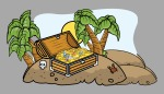 296-pirate-treasure-box-on-an-island--cartoon-vector-illustration-1113tm-v1