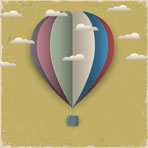 retro-hot-air-balloon-and-clouds-from-paper-913-1374