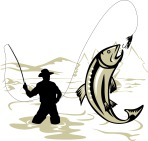 flyfishing_trout_jumping_woodcut