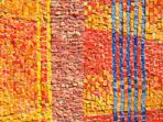 Color tiles mosaic texture
