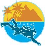 logo_scuba_diver_island