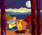 man_playing_the_guitar_camping