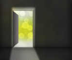 Open Door Background