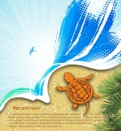 vector-summer-background-with-turtle_f1EKrTB_