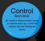 Control Definition Button Shows Remote Operation Or Controller