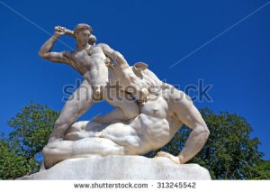 stock-photo-beautiful-marble-sculpture-of-theseus-slaying-minotaur-313245542