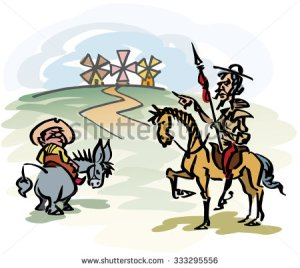 stock-vector-don-quixote-de-la-mancha-333295556