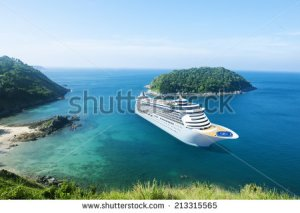 stock-photo-cruise-ship-in-the-ocean-with-blue-sky-213315565