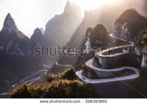 stock-photo-the-winding-road-of-tianmen-mountain-national-park-hunan-province-china-398393665