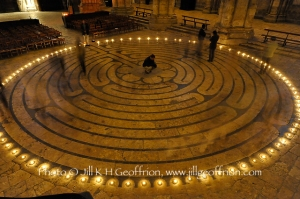 Chartres Cathedral Labyrinth Chemin Neuf