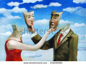 stock-photo-a-man-and-a-woman-mutually-conceal-their-partner-with-a-mask-219285991
