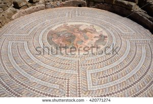 stock-photo-mosaic-floors-of-ancient-roman-villas-with-scenes-from-greek-mythology-battle-of-theseus-and-420771274