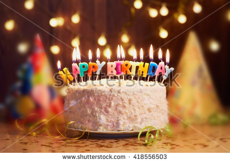 stock-photo-birthday-cake-with-candles-bright-lights-bokeh-418556503