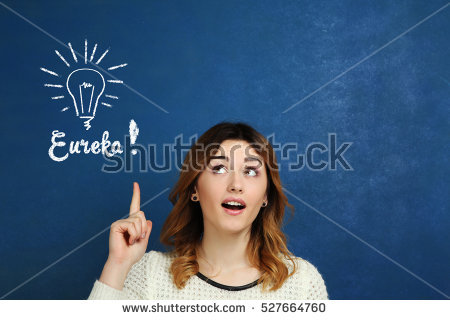 stock-photo-a-young-girl-shows-a-finger-upwards-on-a-blue-background-conceived-the-idea-eureka-527664760