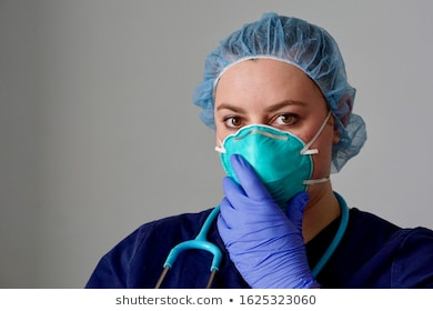 close-female-nurse-putting-on-260nw-1625323060